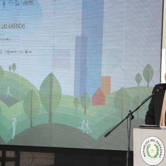 """Intendente participó del lanzamiento del proyecto """"Asunción, Ciudad Verde de las Américas- Vías a la sustentabilidad"""""""