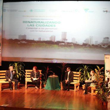 Cursos hídricos y basura fueron temas abordados durante seminario internacional en el Día Mundial del Medio Ambiente