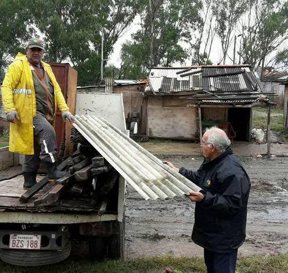 Municipalidad ya ubicó en albergues a 575 familias afectadas por la crecida del río Paraguay
