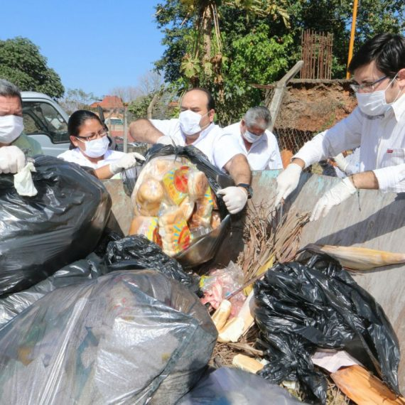 Alimentos decomisados de supermercado El Tigre fueron destruidos