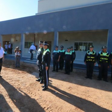 Concluyó la construcción del nuevo edificio de la Base Operacional Nº 1 de la Policía Municipal de Tránsito