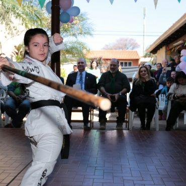 Bullicio y risas infantiles en Clausura de Colonia Municipal de Vacaciones de Invierno