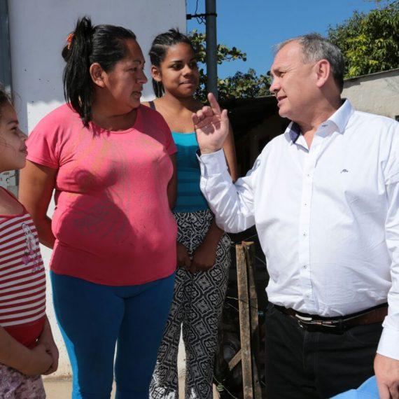 Avanzan obras viales y comunitarias que se encaran en zona del Bañado Sur