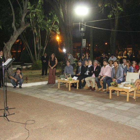 La Plaza Uruguaya ostenta lumínica renovada con tecnología Led