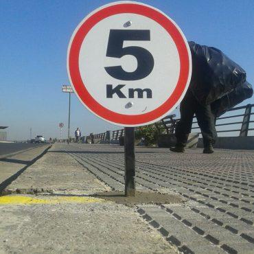 La Costanera ya tiene demarcación de kilometraje para facilitar la realización de maratones