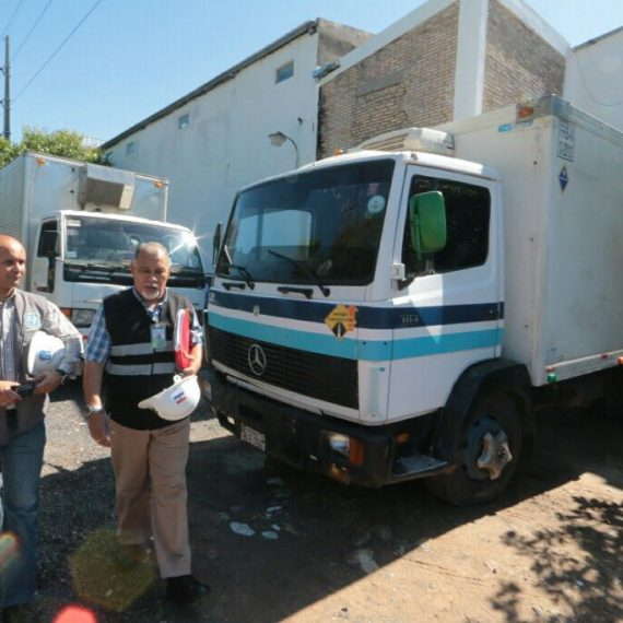Vehículos que transportan productos cárnicos serán verificados en la Comuna Capitalina