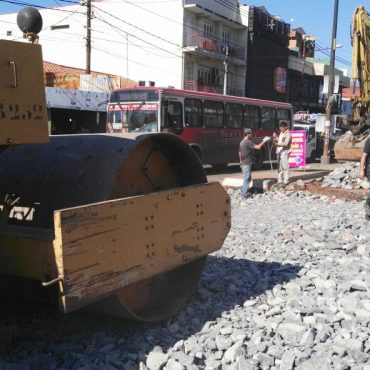 Colocarán hormigón de alta resistencia en lado sur de la avenida Perú, en bocacalle con Rodríguez de Francia