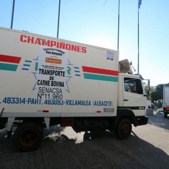 Vehículos que transportan carne del frigorífico Concepción cumplen con todos los requisitos exigidos por ordenanza municipal