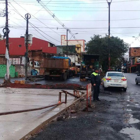 Media bocacalle de Perú y Rodríguez de Francia será rehabilitada a partir de este miércoles 16 de agosto