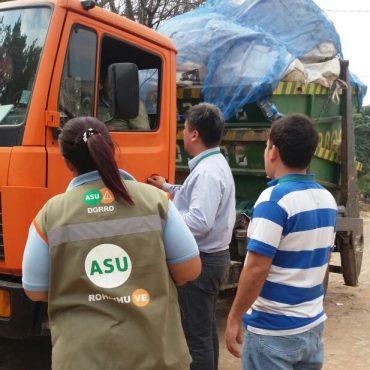 Municipalidad interviene vertederos clandestinos