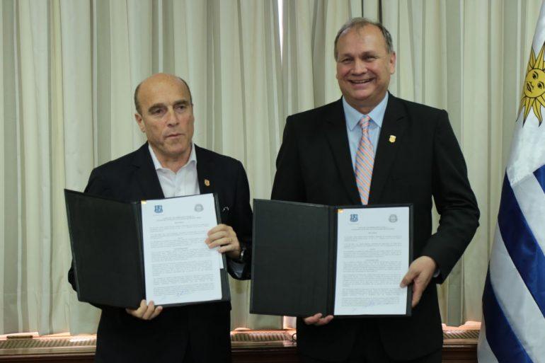Asunción y Montevideo hermanadas mediante firma de una Carta de Entendimiento
