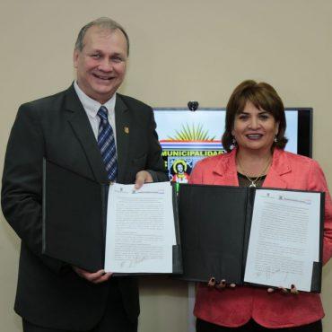 Municipalidades de Asunción y Mariano Roque Alonso firmaron convenio para cooperación recíproca