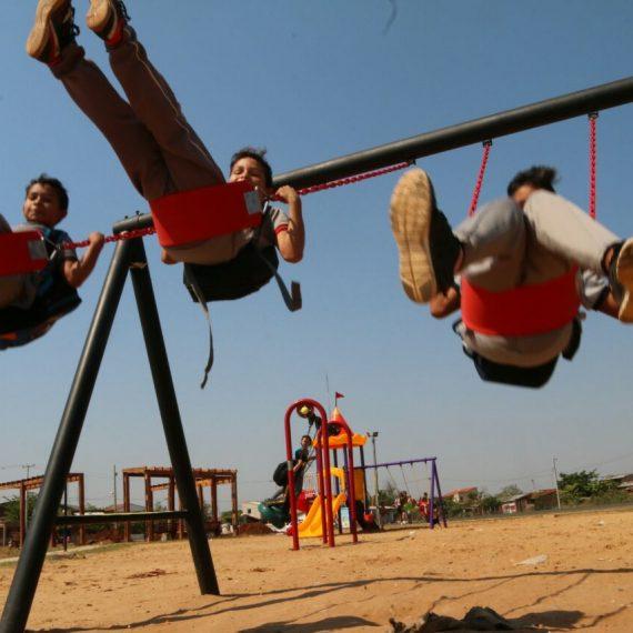 Plaza Cañones del Bañado Sur será inaugurada este sábado 9 de setiembre