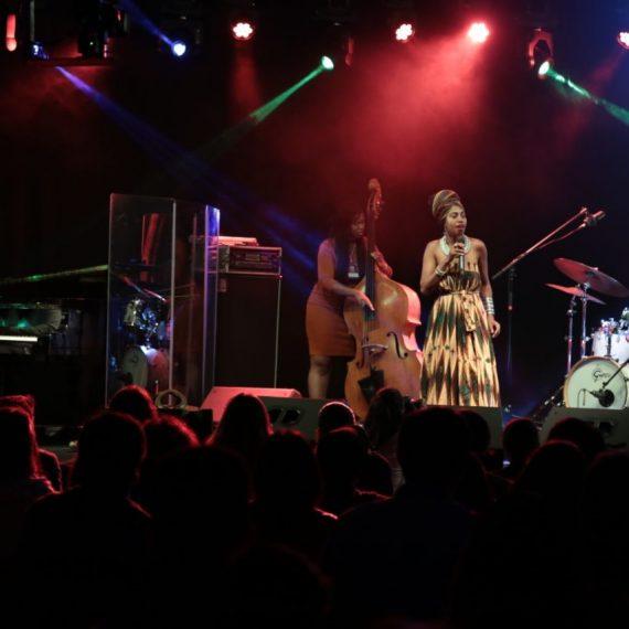 Multitudinario público en la noche inaugural del Asujazz 2017 y del XX CCPA Jazz Festival
