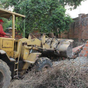 Municipalidad recuperó prolongación de la calle Dr. Gatti que fue invadida de manera irregular
