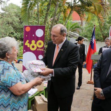 Embajada de Taiwán entregó donativos para diversas organizaciones municipales