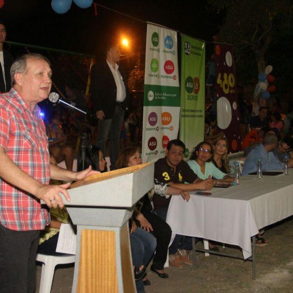 Centro Comunitario del barrio San Miguel fue inaugurado para cumplir el sueño de numerosos vecinos