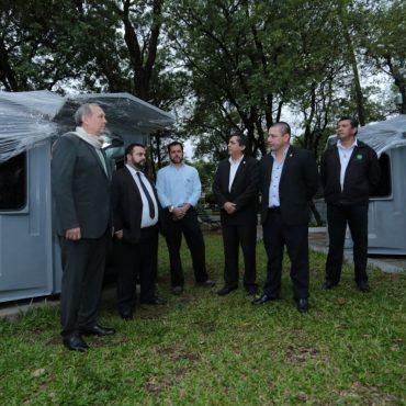 Municipalidad adquirió nuevas casetas de seguridad a ser colocadas en diferentes espacios públicos