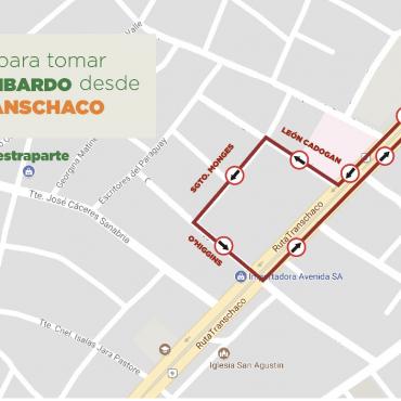 Giros a la izquierda en la Avenida Artigas (Title)