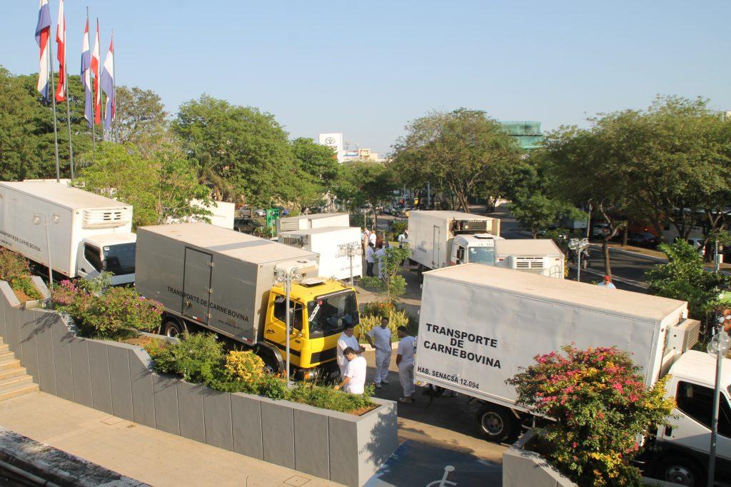 Prosigue verificación de salubridad municipal a vehículos transportadores de carne