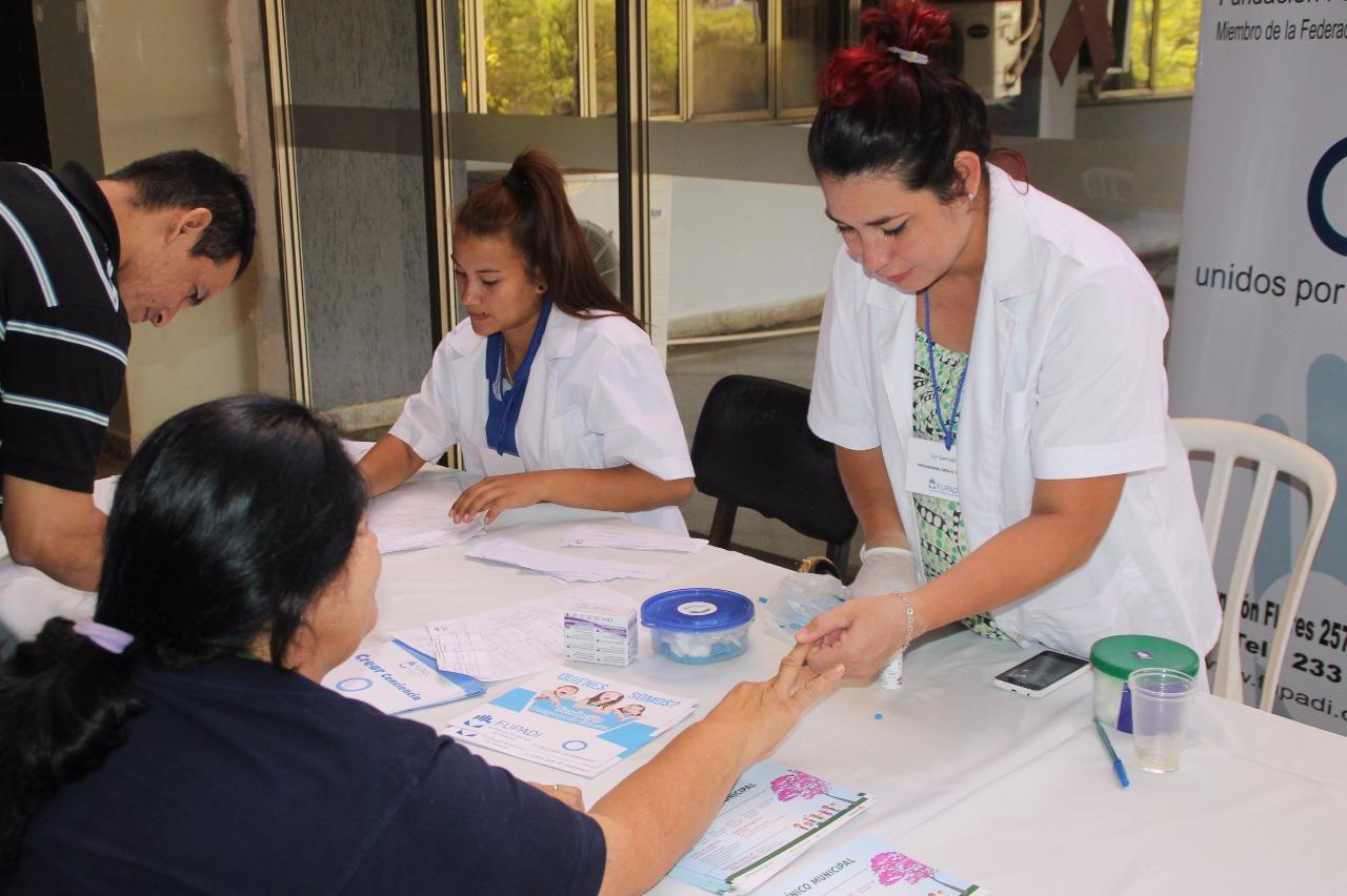 Jornada de control de factores de riesgo para prevenir la diabetes a funcionarios municipales