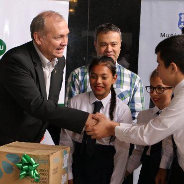Ocho instituciones educativas fueron premiadas en el marco de la clausura de la Campaña Reciclando Todo