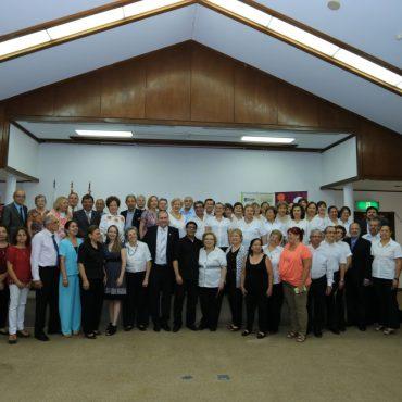 Intendente participó de la clausura de actividades de los Adultos Mayores en el Centro Paraguayo Japonés