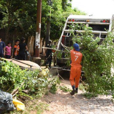 Cerca de 200.000 kilos de basura ya fueron retirados en el marco de la gran campaña municipal de concienciación
